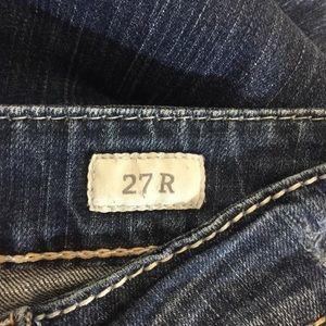 Buckle Jeans - BKE Stella Boot Cut Thick Stitch Size 27 W28 x L29